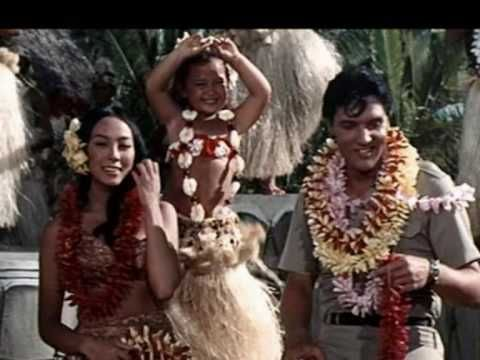 Elvis Presley-Blue Hawaii.  Another one of her favorites.  We would sit in her piano room and listen to this record and she would always want me to dance the hula.