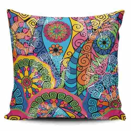 Cojin Decorativo Tayrona Store Mandala 118 - $ 44.900