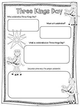 THREE KINGS DAY (LOS REYES MAGOS) POWERPOINT AND ACTIVITIES - TeachersPayTeachers.com