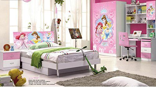 Product Description: Contemporary Kids Room Furniture set with Disney Frozen Princess theme Not all products shown in the picture are included in this kids room set. Only the below listed items are included: Bed Bedside Table Desk 3 Door Wardrobe Dimensions: (in mm) Bed – L.1960 * W.1280 *... more details available at https://furniture.bestselleroutlets.com/children-furniture/bedroom-sets-children-furniture/product-review-for-kids-room-furniture-set-contemporary-design-