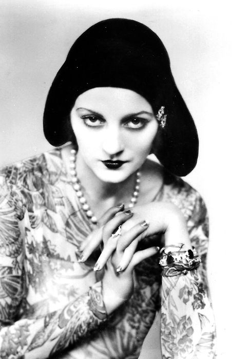 """Tallulah Bankhead, actress, bone vivante,  daughter of the Speaker of the House of Representatives. (1936-40) """"I know cocaine isn't habit forming, I've been taking it for years."""""""