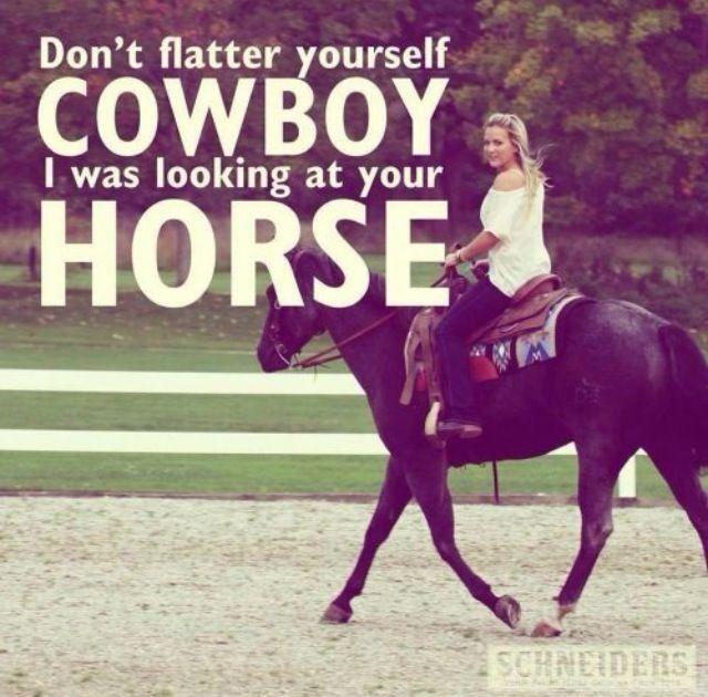 Haha ;) - Horse quotes - equestrian