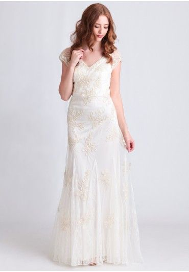 Best 25 sue wong wedding gowns ideas on pinterest sue wong corrine embroidered dress by sue wong modern vintage bridal dresses modern vintage bridal junglespirit Images
