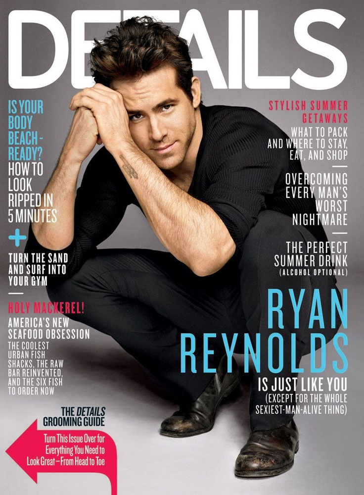 Ryan Reynolds Magazine Cover Photos - List of magazine covers featuring Ryan Reynolds - Page 4