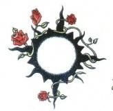 Tribal Rose Ring Tattoo
