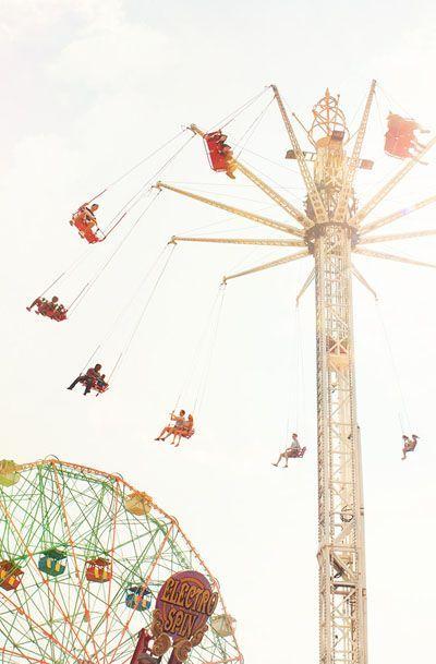 Carnival Photography Brooklyn Summer Coney Island Rides
