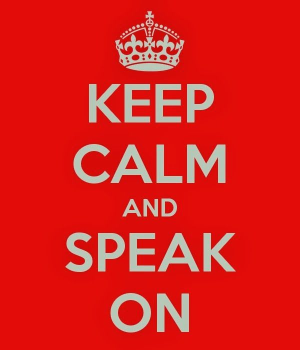 NOTSOPEACHIE: Keep Calm And Speak On My embarrassing birthday speech