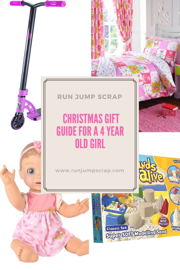 Christmas Gift Guide for a 4 Year Old Girl - Run Jump Scrap!