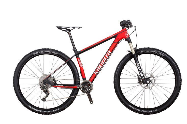 Kreidler Stud 29″ Carbon Team Replika Shimano XT 2×10-Gang / Disc – rower teambike