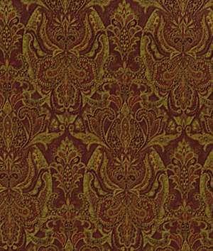 Robert Allen @ Home Robert Allen Persia Paisley Tuscan Red Fabric - $26.25   onlinefabricstore.net