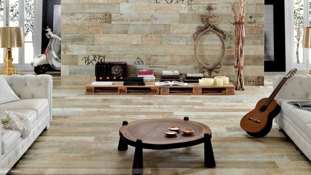 At Lifestyle Ceramics: we've got wood look tiles that replicate oak, elm, poplar, whitewood, blackwood, chestnut and more. We even have tiles that emulate raw packing crates and pallets - complete with stamps, labels, and graffiti. We've got a wide range of colours and sizes including long, thin planks to mimic real floorboards.  &nbsp...
