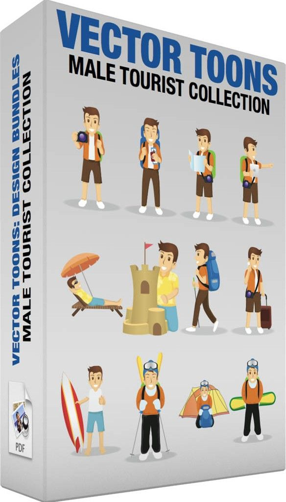 male-tourist-collection