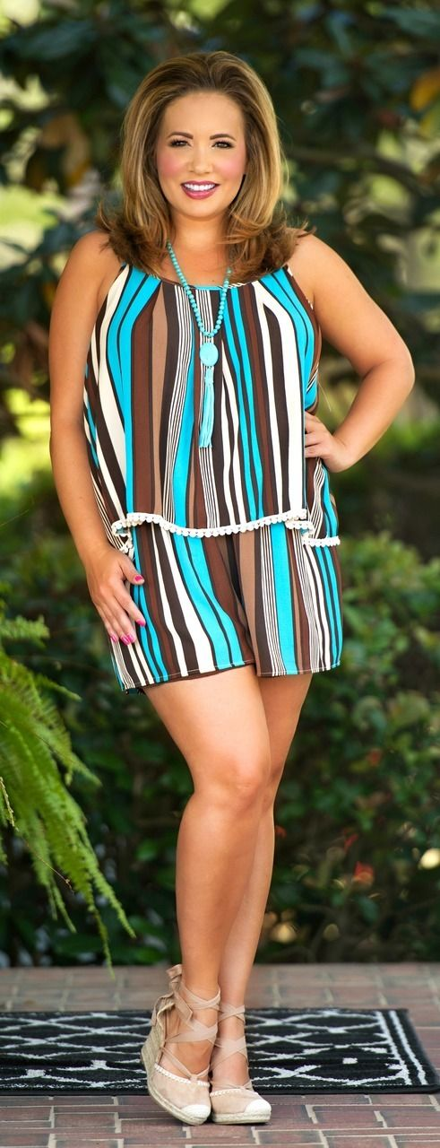 Right On Time Romper - Brown - Perfectly Priscilla Boutique