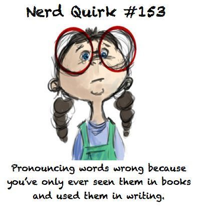 *sigh* All the time.Geek, Nerdquirk, Pets Peeves, Nerdy, Nerd Quirks, Funny, So True, Harry Potter, The Beast