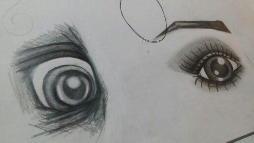 Eyes - hand sketch by Startled Squid Design Group  www.startledsquid.com