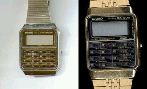 Cosas antiguas- Reloj calculadora Casio