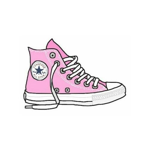 How To Draw A Shoes Converse