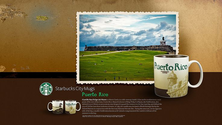 Starbucks City Mug Puerto Rico Desktop Wallpaper