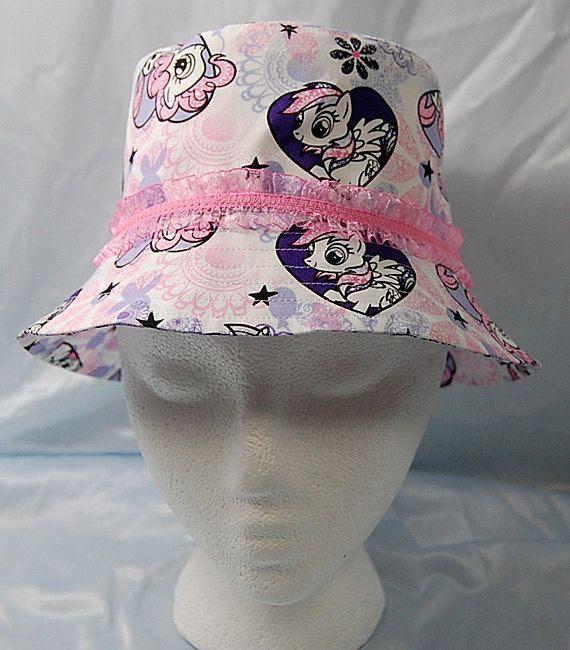 Handmade My Little Pony girls bucket hat  size S by DaleRaeDesigns