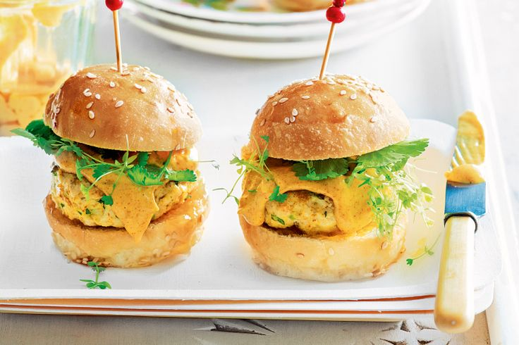 Sliders or mini burgers are popping up on restaurant menus everywhere. They're also a fun idea when you're entertaining at home, especially at a cocktail party or summer barbecue.