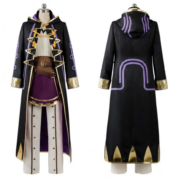 CUSTOMIZE Fire Emblem Robin Men Women Cosplay Uniform Anime Cosplay Costume