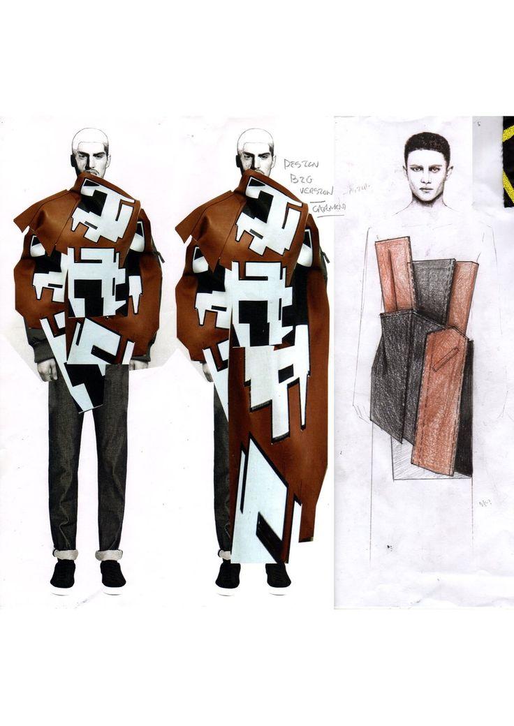 Fashion Sketchbook - fashion illustrations; fashion design development; fashion portfolio // Niall Cottrell