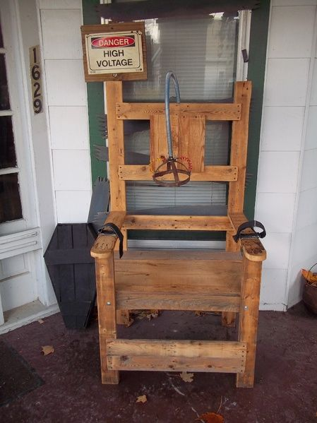 electric chair plans halloween. electric chair. halloween chair plans l