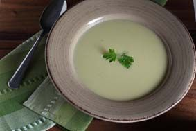 Potato and leek soup | Thermomix | Everyday Cookbook