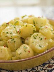 Oma's Traditional German Potato Salad | FaveHealthyRecipes.com