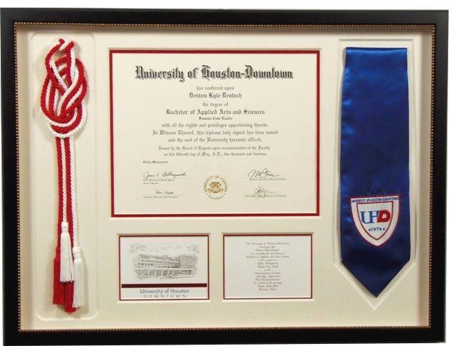 College Diploma & cords