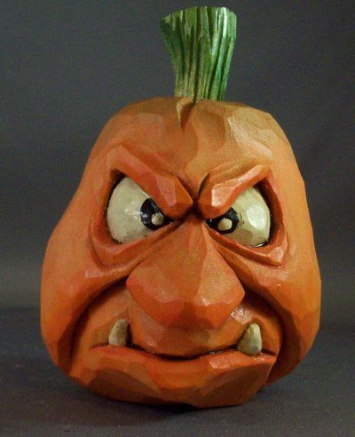 Pissed off Punkin by StudioJsculpts