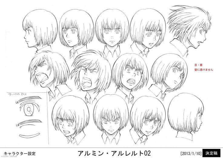 Love this drawing anime facial expressions dream... shades