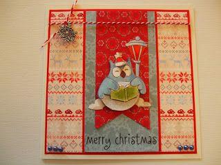 Sabine's hobbyblog: Een blauwe kerst?