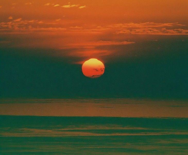 Sun rising in Pelion, Tsagarada, Magnisia, Thessaly_ Greece