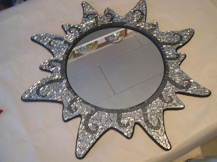 Ayna mozaik çalışmam.