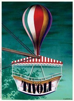 By Ib Andersen 1943. Classic danish poster