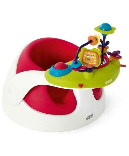 Baby Snug With Play Tray  - Red - WANT!