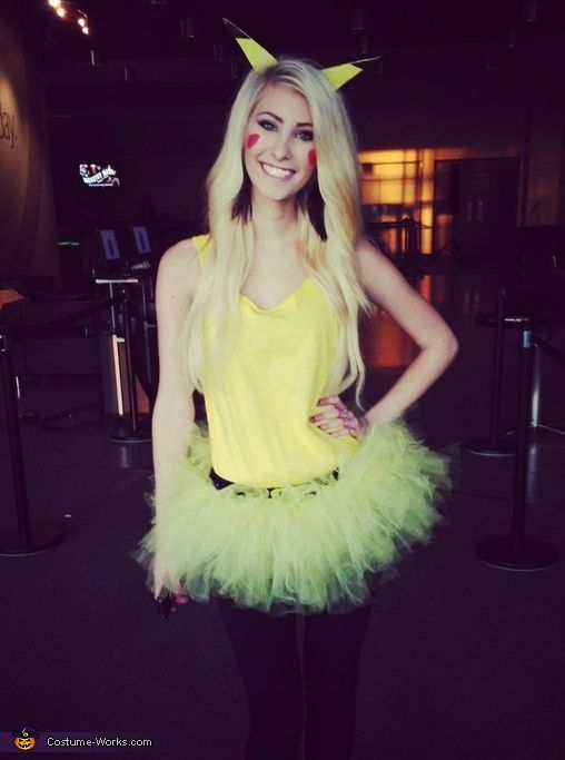 cute u0026 girly pikachu halloween costume contest at
