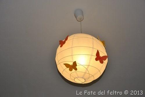 i miei lampadari ikea personalizzati
