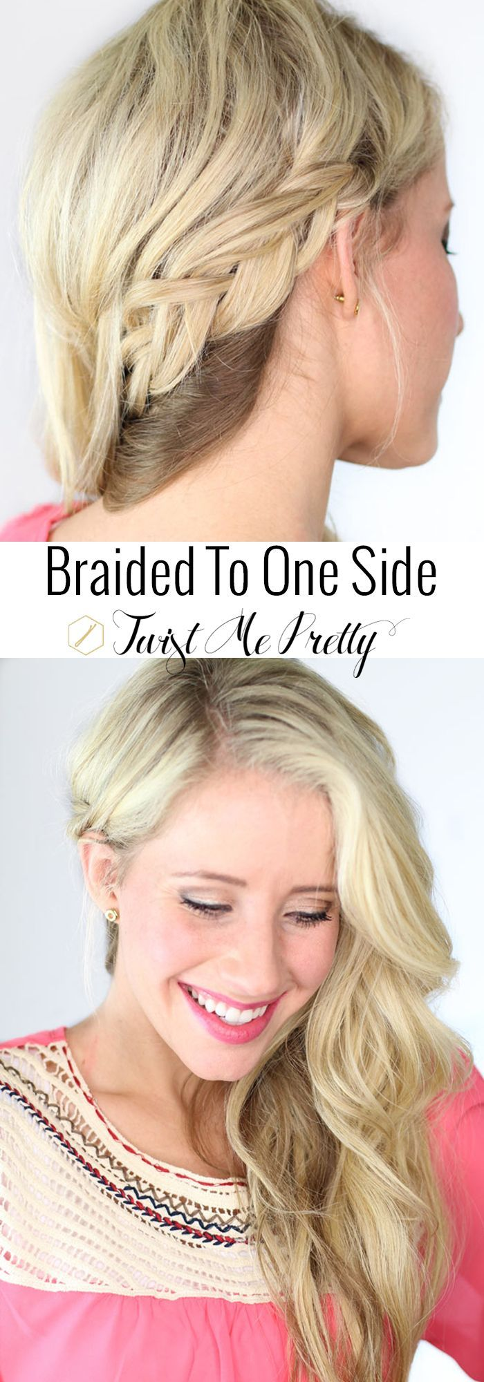 Pretty Simple Bandana Beauty: 1000+ Ideas About One Sided Braid On Pinterest