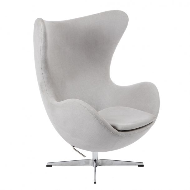 Egg Chair Light Gray Memoky Com Scandinavian Furniture Lounge Chair Red Leather Chair Blue Chairs Living Room #small #leather #chairs #for #living #room