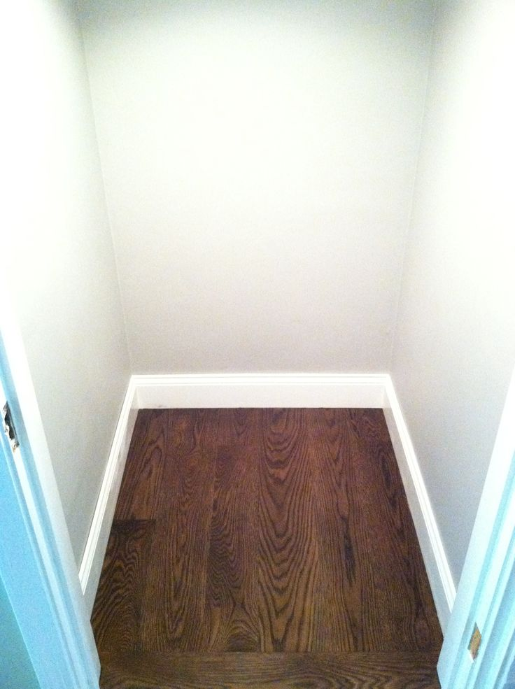 Dark Floors Grey Walls White Trim Waterproof Laminate