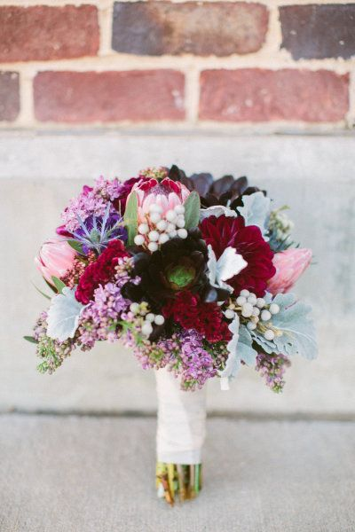 berry colored bouquet Photography by Taylor Lord Photography / taylorlord.com, Floral Design by Coco Fleur Events / cocofleureventdesign.com
