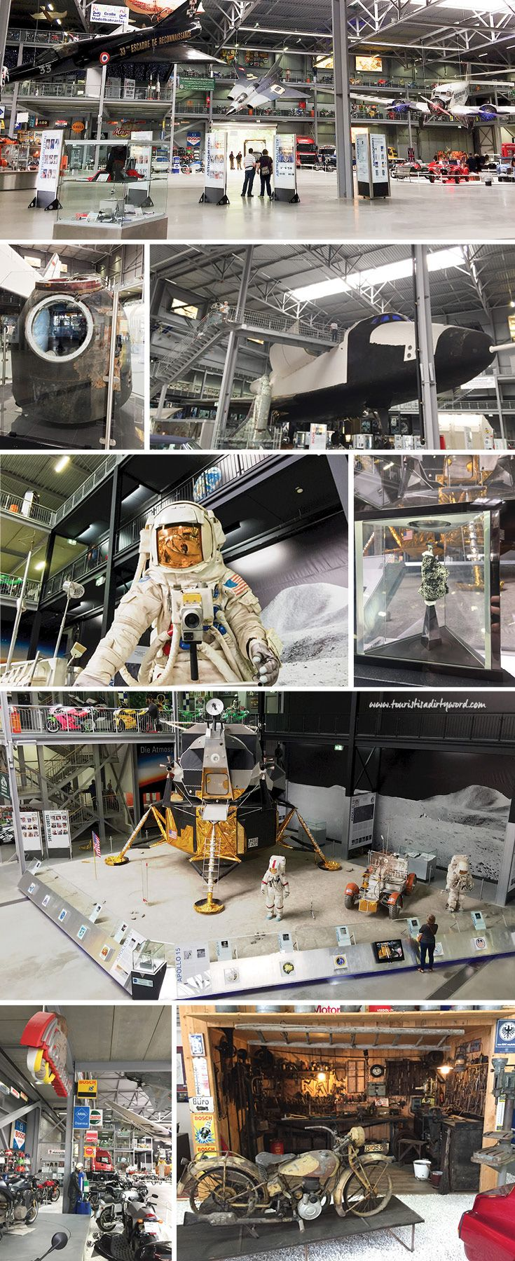 The Technik Museum in Speyer, Germany has a massive Space Exhibition Hall that includes an original space shuttle, BURAN