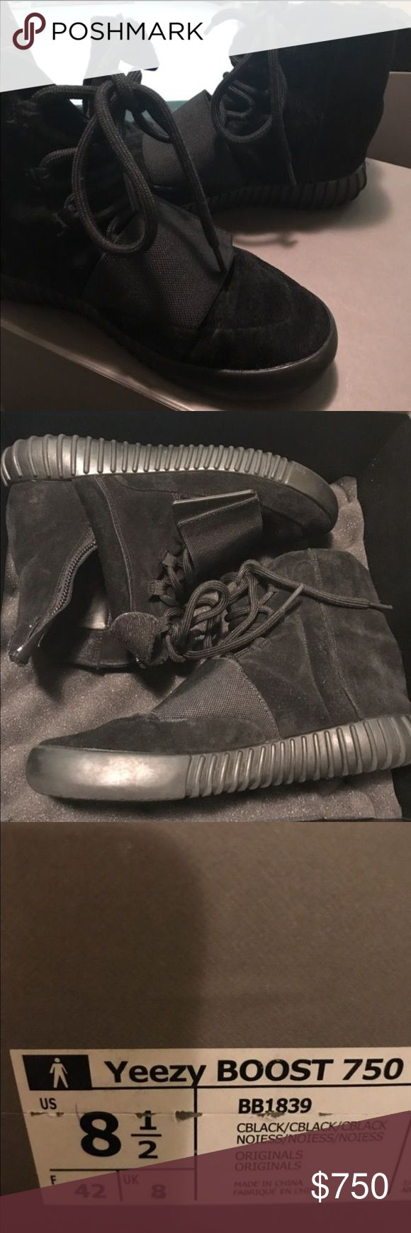 Yeezy Boost Authentic Yeezy Boost 750 **zipper is broken on both. Price reflects, can be repaired at your local cleaners/ shoe shop) Yeezy Shoes Sneakers