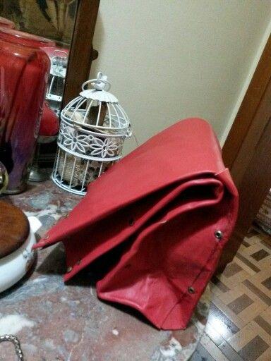 Bolsa saco de pan cuero