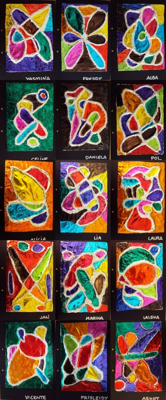 Plastiquem: TAPES D'ÀLBUM DE 5è | ARTÍSTICA | Proyectos de ...
