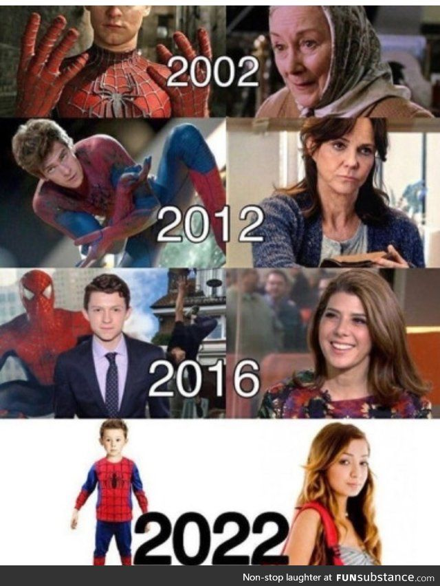 When I first saw the cast list for Spider-Man Homecoming I was really confused and wondered if there was some sort of flash back with young Aunt May or something