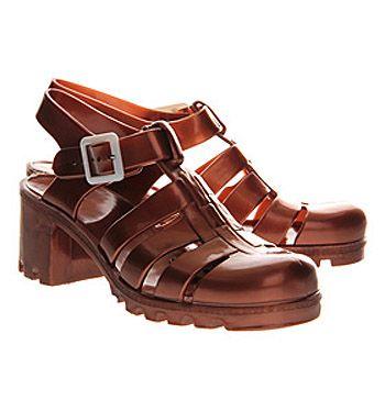JuJu Babe Hi Juju Jelly Copper - Sandals