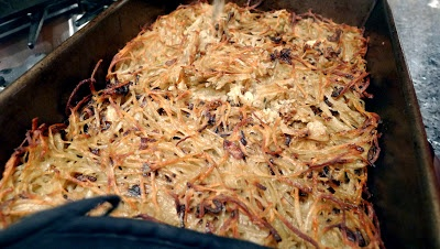 Potato Kugel with Crispy Fried Shallots | Love and Beer Floats | Pint ...